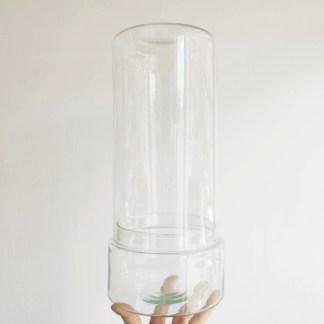 szklany klosz cylinder 33 cm
