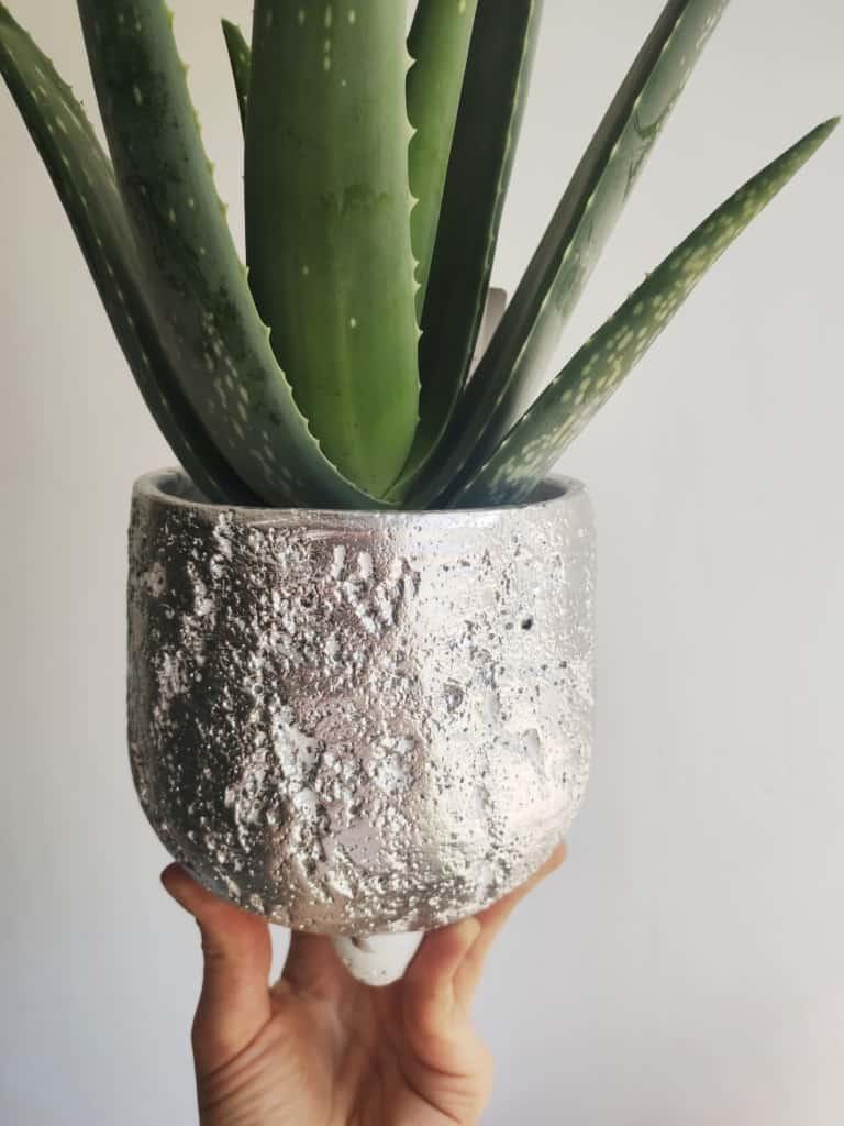 Osłonka betonowa 'Silver' 14 cm