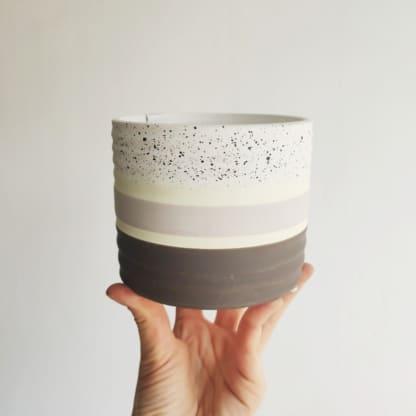 Osłonka ceramiczna Dots 11 cm