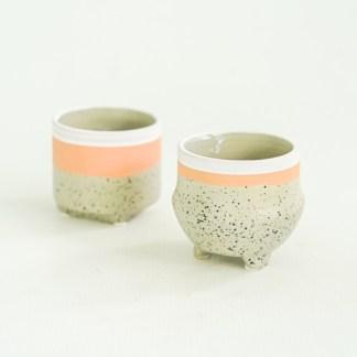 Osłonka ceramiczna dots mini 6 cm (2 kształty)