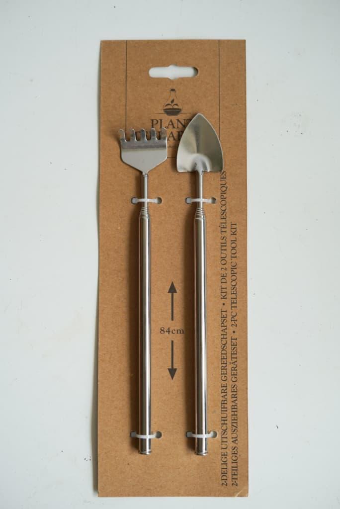 Narzędzia do ogrodów w szkle (zestaw)